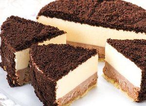 北海道ルタオのチョコレートケーキ