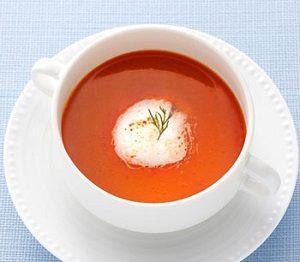 志摩観光ホテルの伊勢海老クリームスープ