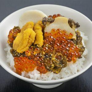 三陸海宝漬丼