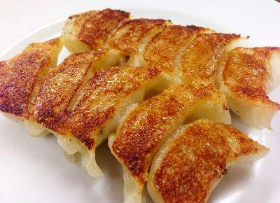 福岡県で大人気の餃子屋宝雲亭 (ほううんてい)の一口餃子