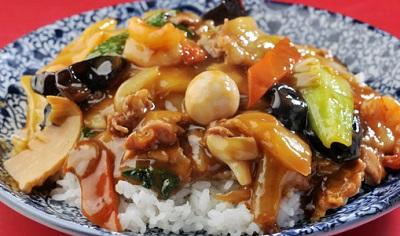上海料理大吉の中華丼