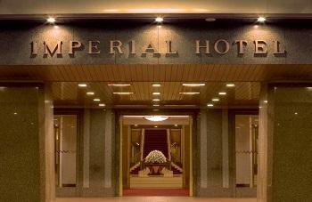 帝国ホテルのエントランス