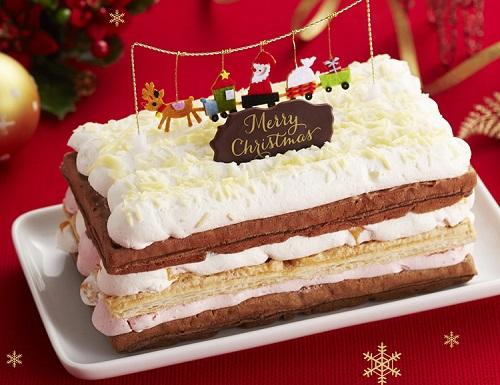 ホワイトクリスマスケーキ2017