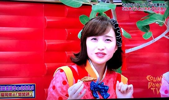 ももくろ 百田夏菜子(ももた かなこ)おすすめグルメ